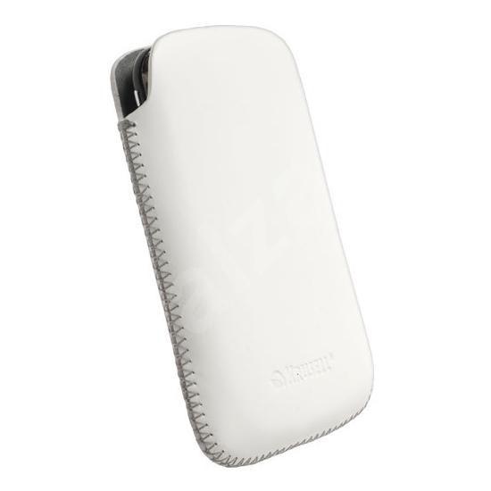 Krusell DONSÖ Large bílé - Pouzdro na mobilní telefon
