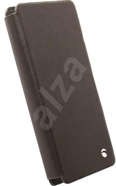 Krusell MALMÖ FLIPWALLET Slide 2XL, černé - Pouzdro na mobilní telefon
