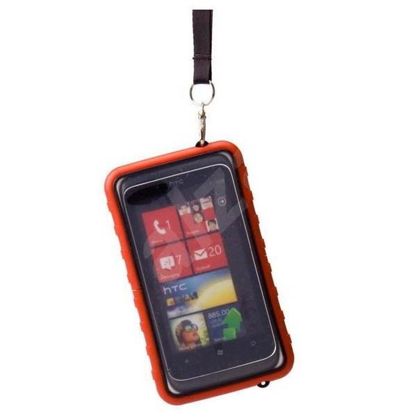 Krusell SEaLABox červené - Pouzdro na mobil