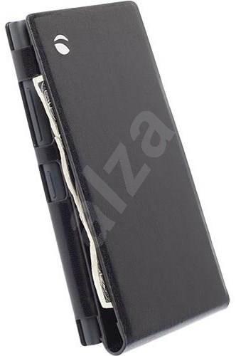 Krusell KALMAR WALLETCASE pro Nokia Lumia 730/735, černé - Pouzdro na mobilní telefon