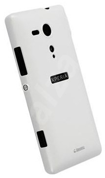 Krusell COLORCOVER pro Sony Xperia SP, bílá metalíza - Ochranný kryt