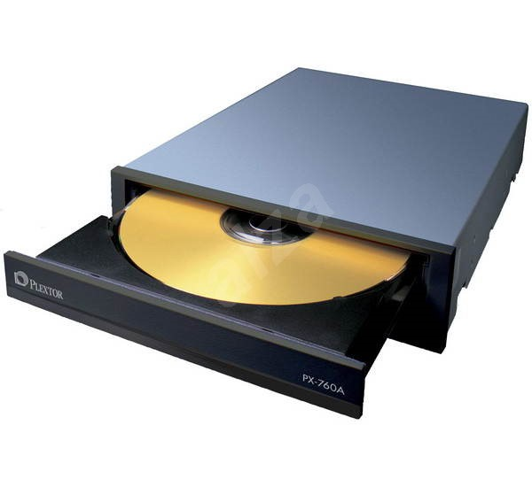 PLEXTOR PX-760A černá (black) - DVD±R 18x, DVD+R9 10x, DVD-R DL 6x, DVD+RW 8x, DVD-RW 6x, bulk - DVD vypalovačka