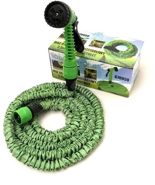 GEKO Zahradní hadice smršťovací, 2,5m-7,5m, 7 funkcí - Smršťovací hadice
