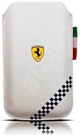 Ferrari Formula 1 Universal White vel. M - Pouzdro na mobilní telefon
