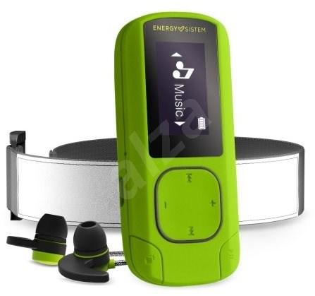 Energy Sistem MP3 Clip Bluetooth Sport 16GB Greenstone - MP3 přehrávač