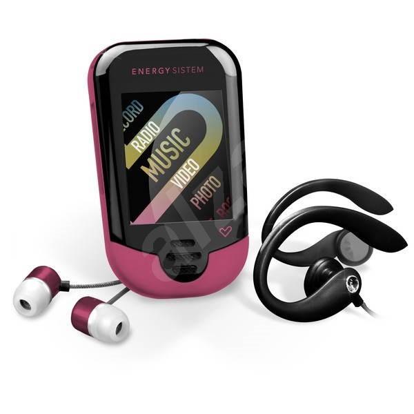 Energy Sistem 3204 4GB Pink - MP3 přehrávač