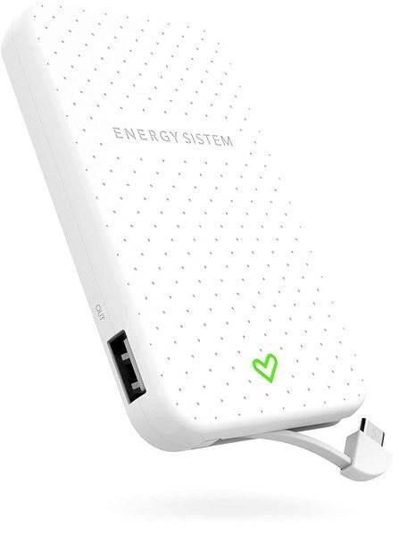 Energy Sistem Extra Battery 5000 Snow - Powerbanka