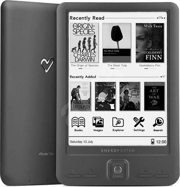 Energy Sistem eReader Slim - Elektronická čtečka knih