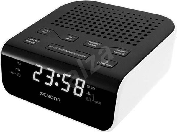Sencor SRC 136 WH černo-bílý - Radiobudík