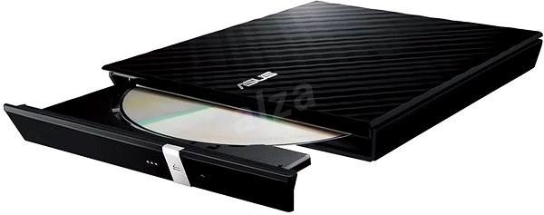 ASUS SDRW-08D2S-U Lite černá + software - Externí vypalovačka