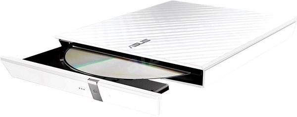 ASUS SDRW-08D2S-U Lite bílá + software - Externí vypalovačka