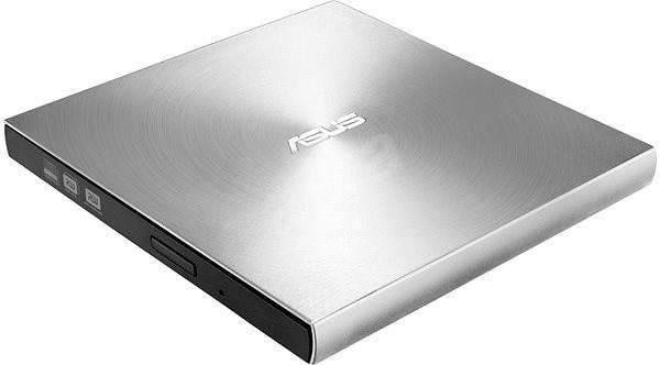 ASUS SDRW-08U7M-U stříbrná + 2× M-Disk - Externí vypalovačka