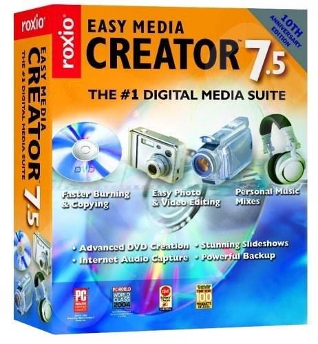Roxio Easy Media Creator 7.5 Retail -