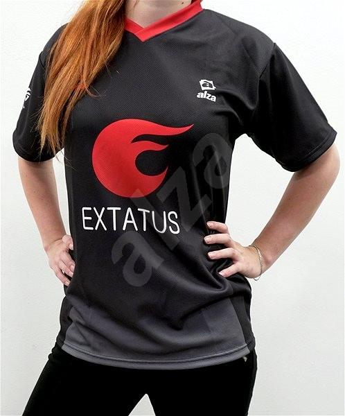 eXtatus hráčský dres česká vlajka černý XL - Dres
