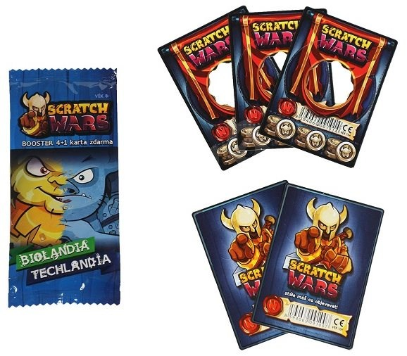 Scratch Wars - Booster Bio/Tech - Card Game
