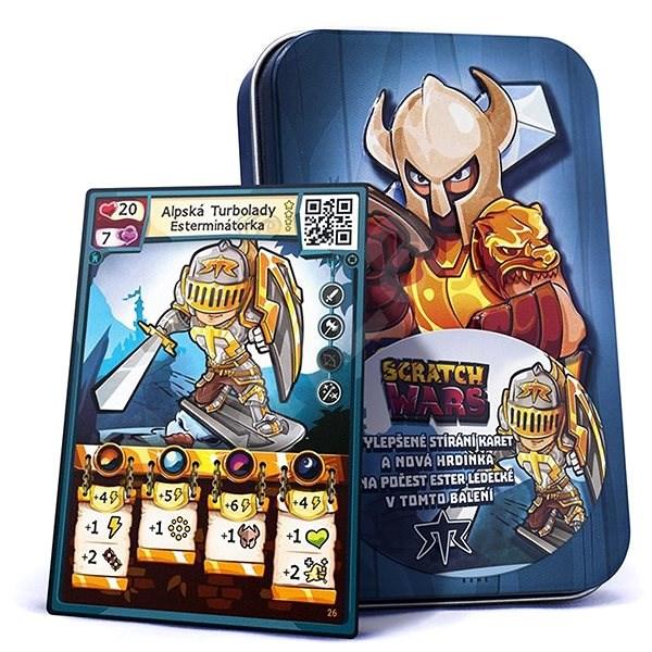 Scratch Wars - Starter Bio/tech + speciální karta Esterminátorky - Karetní hra