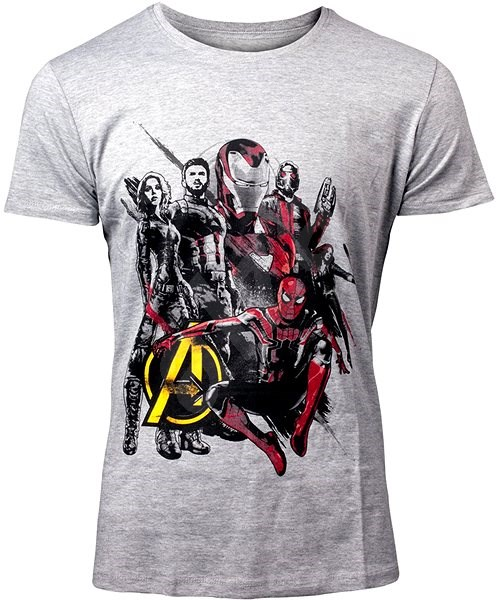 936ed17b67bd Marvel Avengers  Infinity War Hrdinové - XL - Tričko