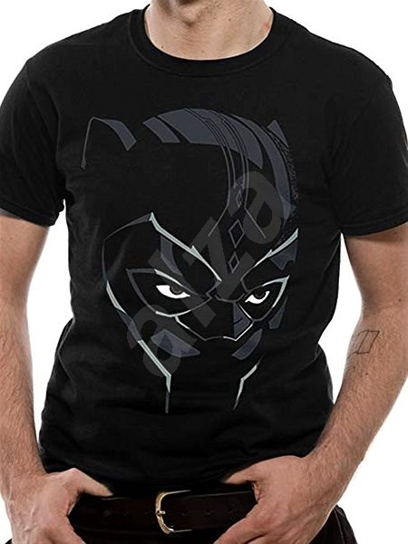 Black Panther - tričko L - Tričko ada2d8a9eb