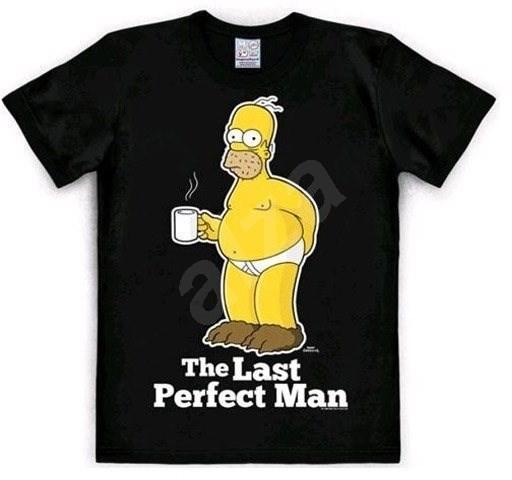 07962202068e The Simpsons - The Last Perfect Man - tričko XL - Tričko