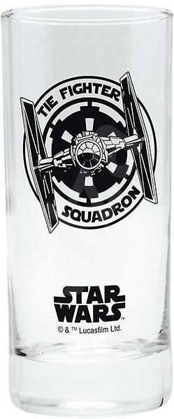 STAR WARS Tie Fighter - sklenička - Sklenice na studené nápoje
