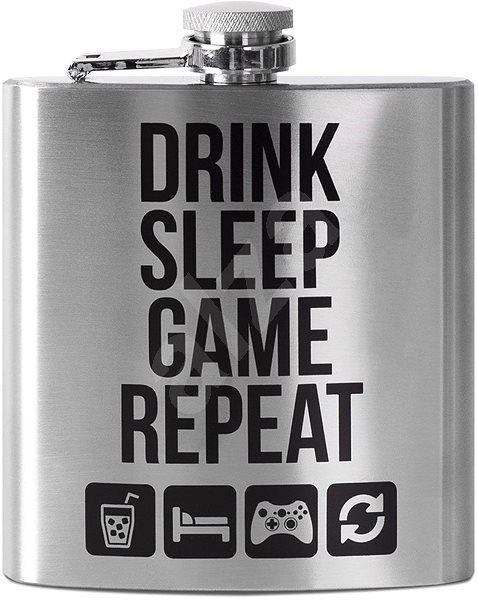 Drink Sleep Game Repeat - placatka - Nádoba