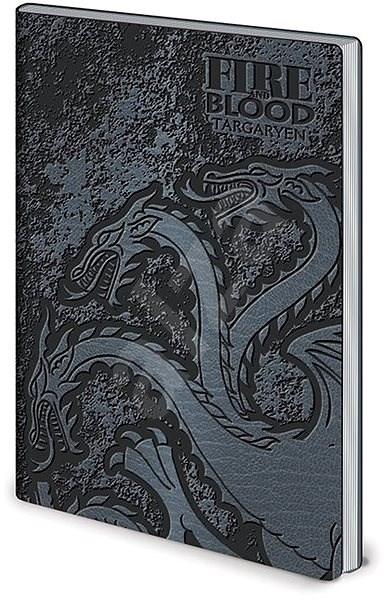 Game of Thrones Stark & Targaryen - zápisník - Zápisník