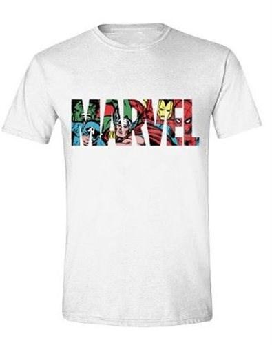 Marvel Characters Logo - tričko XXL - Tričko