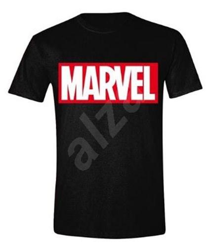 Marvel Box Logo - tričko S - Tričko