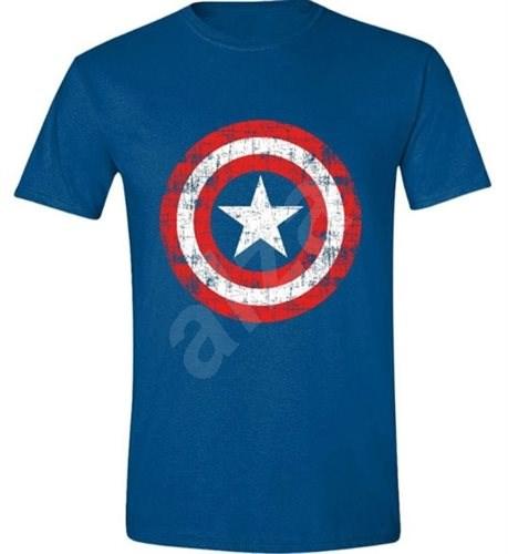 Captain America Cracked Shield - tričko M - Tričko