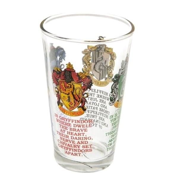 Harry Potter House Crests - sklenice - Sklenice na studené nápoje