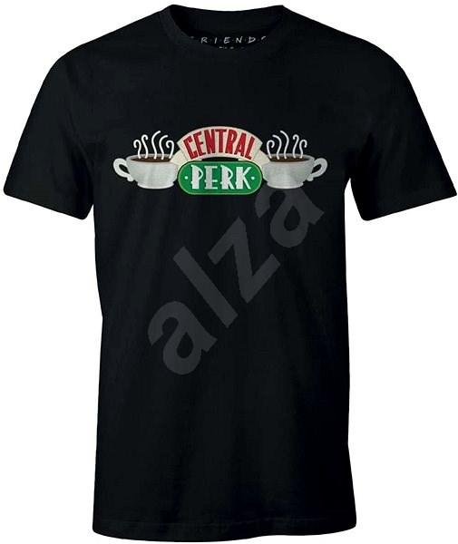 Přátelé - Central Perk - tričko černé XXL - Tričko