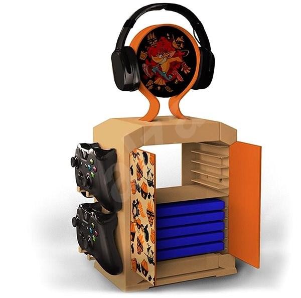 Crash Bandicoot - Gaming Locker - Držák