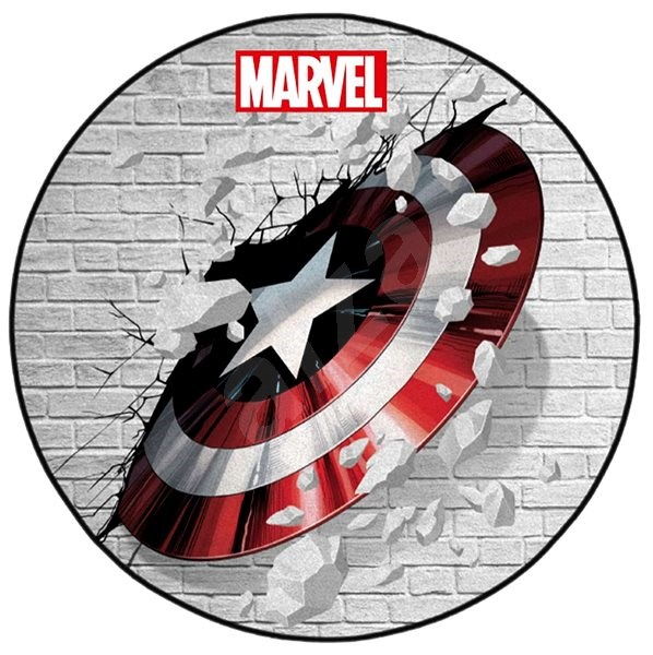 Captain America - Shield - kobereček - Rohožka