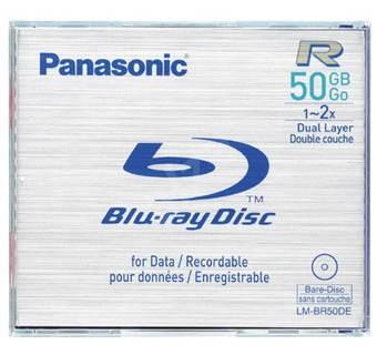 Blu-Ray médium Panasonic BD-R 50GB -