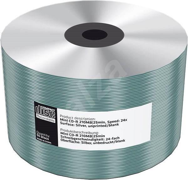 Mediarange CD-R 8cm 200 MB 24x blank folie 50 ks - Média
