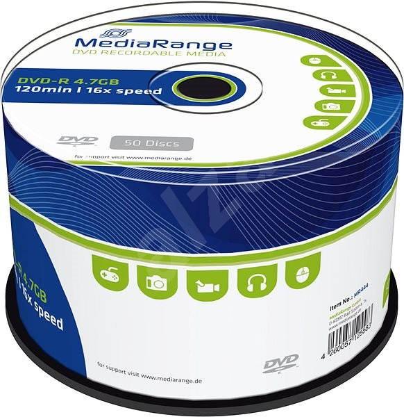 MediaRange DVD-R 50ks cakebox - Média