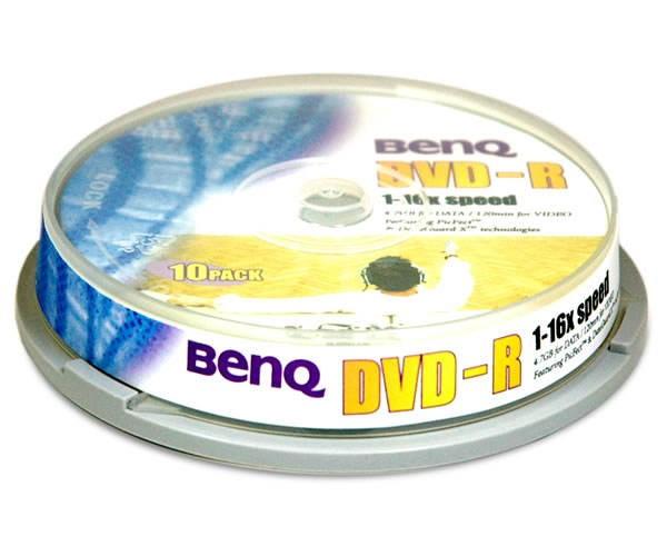 DVD-R médium BenQ 16x -