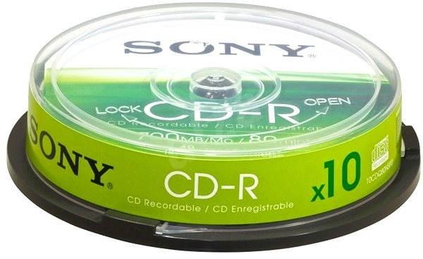 Sony CD-R 10ks cakebox - Média