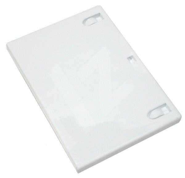 DVD krabička na 1 DVD HQ - bílá (white) -