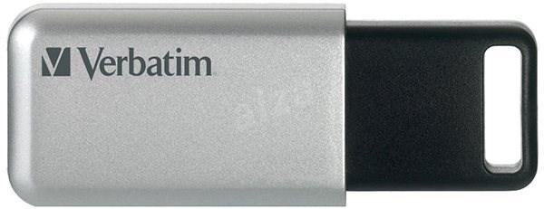 VERBATIM Store 'n' Go Secure Pro 16GB USB 3.0 stříbrná - Flash disk