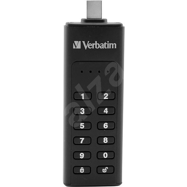 VERBATIM Keypad Secure Drive USB-C 32GB USB 3.1 - Flash disk
