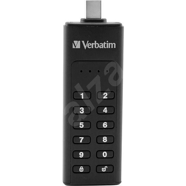 VERBATIM Keypad Secure Drive USB-C 64GB USB 3.1 - Flash disk