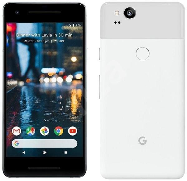 Google Pixel 2 128GB bílý - Mobilní telefon