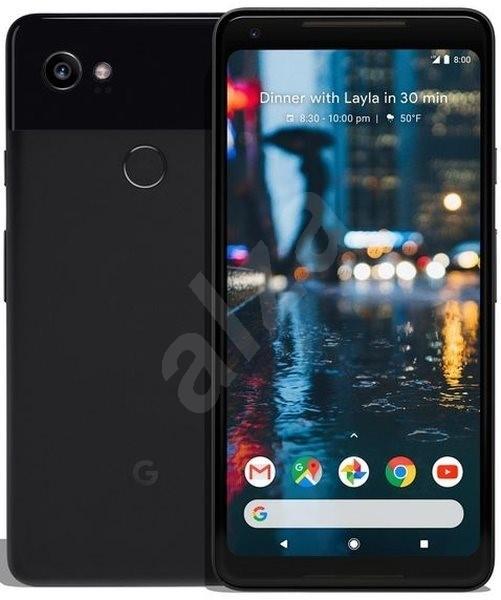 Google Pixel 2 XL 128GB černý - Mobilní telefon