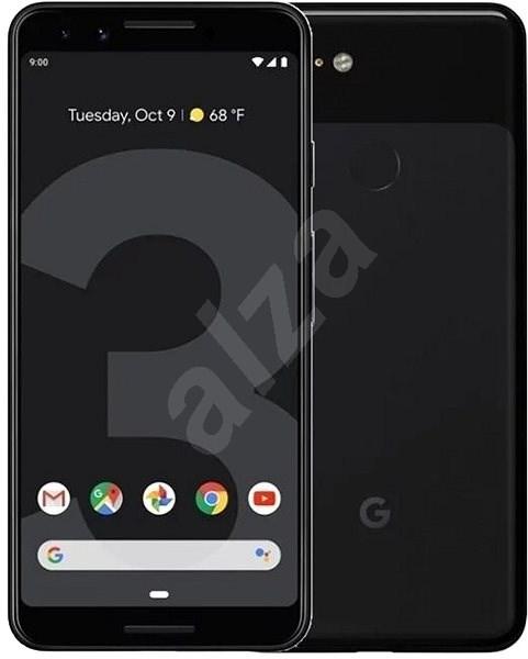 Google Pixel 3 64GB černá - Mobilní telefon