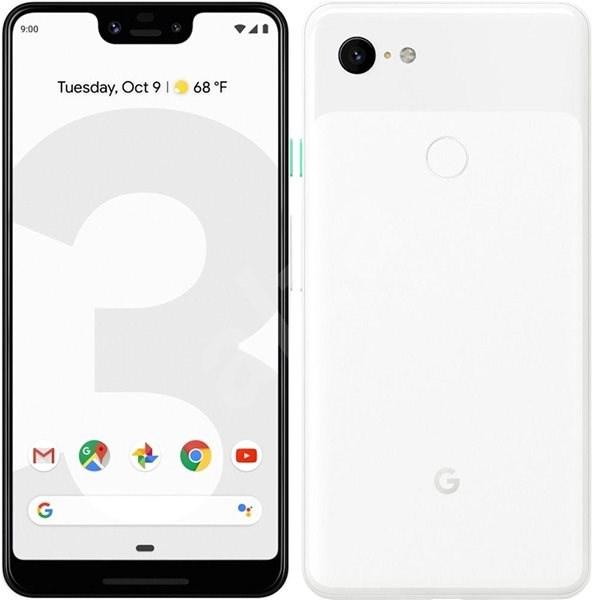 Google Pixel 3XL 64GB bílá - Mobilní telefon