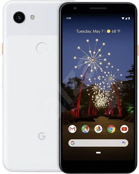 Google Pixel 3a XL bílá - Mobilní telefon