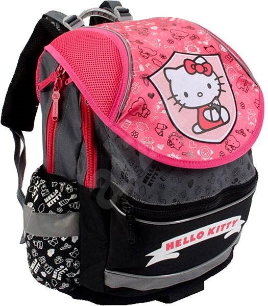 31bfad8f68 PLUS Hello Kitty Kids II. Limited edition Pink   Grey - Školní batoh ...