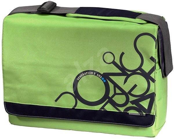 """AHA Jumble Messenger 15.6"""" kiwi zelená - Brašna na notebook"""