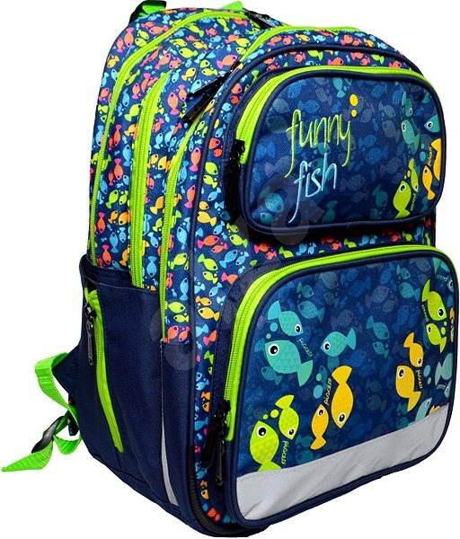 607c79e10ae ERGO Kids Ryba - Školní batoh
